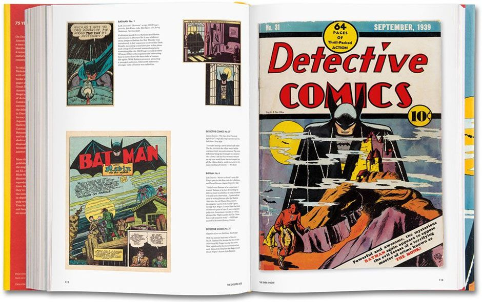 Paul Levitz, 75 Years of DC Comics, Taschen.