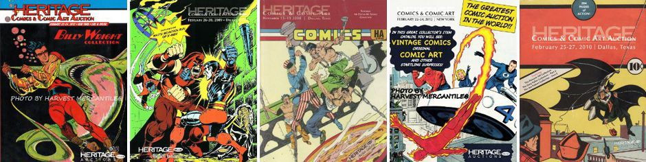 Heritage Auctions Comic Art.
