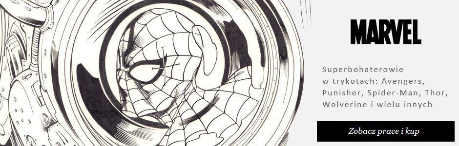Superbohaterowie Marvel - rysunki, komiks.