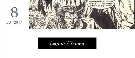 Legin / X-men - serial. Premiera 8 lutego 2017 r.