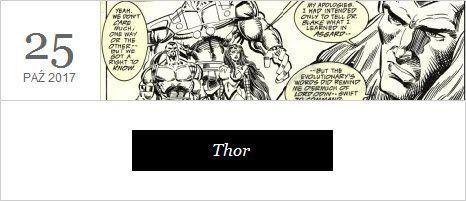 Thor - film, premiera 25 października 2017 r.