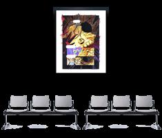 Sztuka komiksu na ścianie.