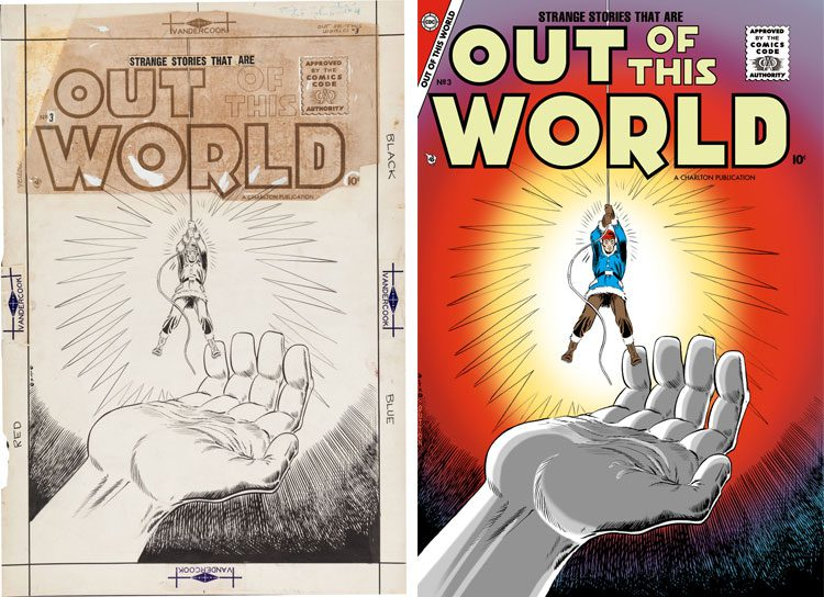 Steve Ditko Out of This World 3.