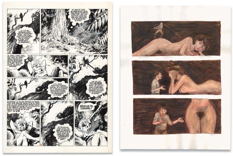 Grzegorz Rosinski / Picasso, Christie's.