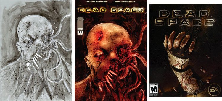 Dead Space - okładka komiksu.