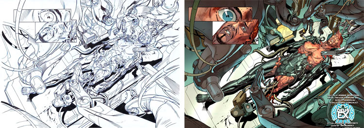 Deus Ex - komiks i gra.