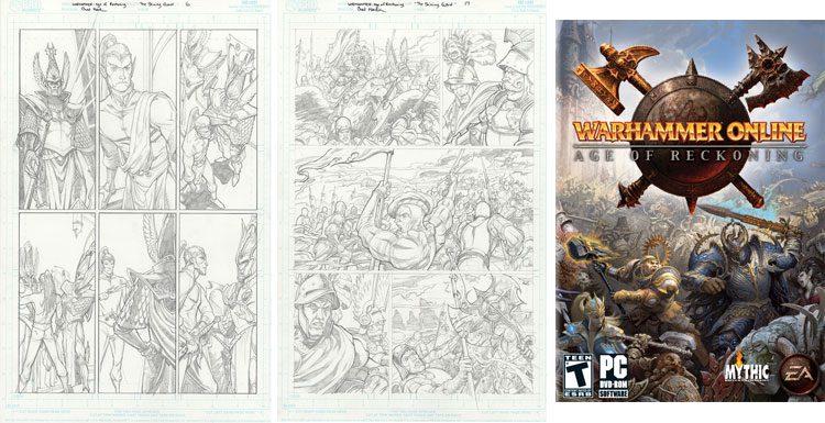 Warhammer Fantasy - rysunki.