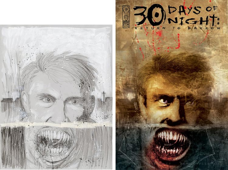 Ben Templesmith, 30 Days of Night, Vol. 3: Return to Barrow.