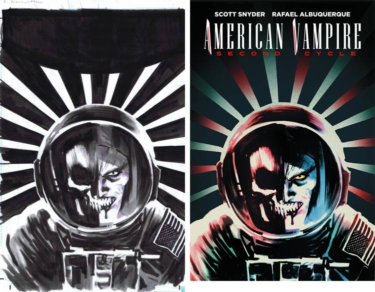 Rafael Albuquerque, American Vampire: Cycle Two #6.