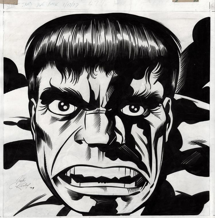 Jack Kirby, Incredible Hulk.