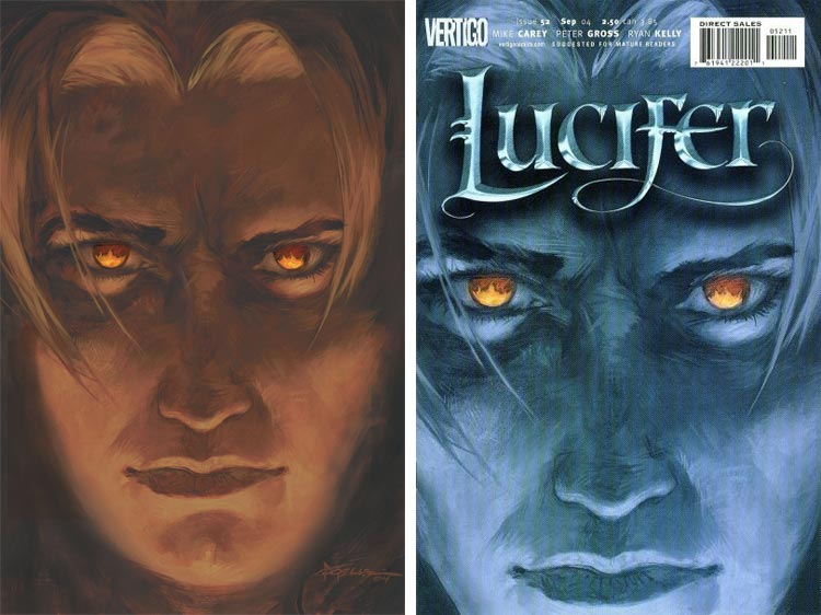 Christopher Moeller, Lucifer #52.