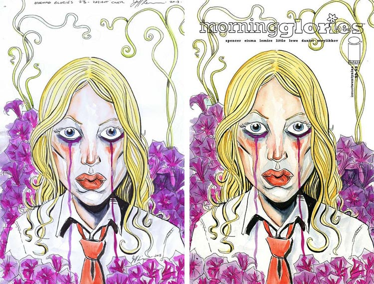 Jeff Lemire, Morning Glories #29;.