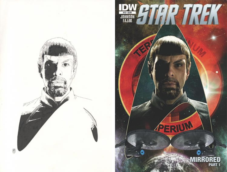 Tim Bradstreet, Star Trek: Mirror Mirror #15.