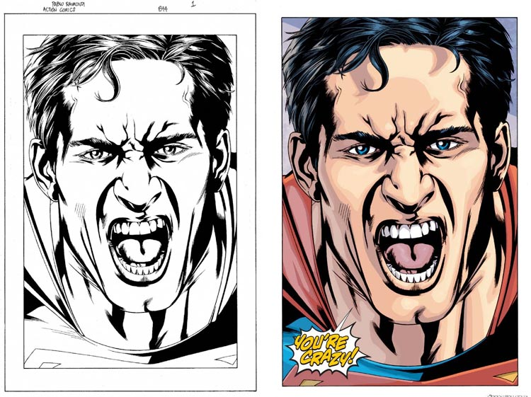 Pablo Raimondi, Action Comics #874.