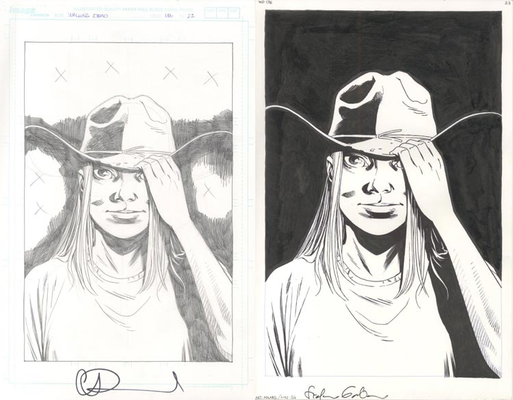Charles Adlard, Walking Dead #136.