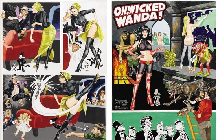 Ron Embleton, Wicked Wanda,