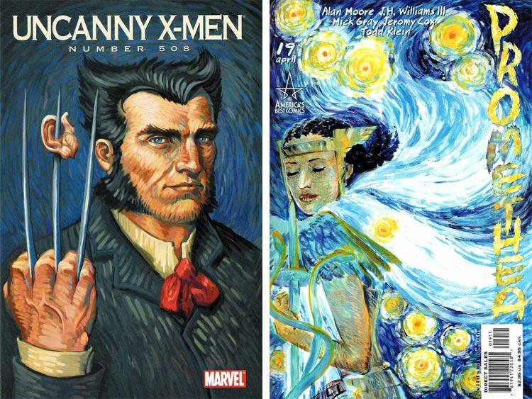 Vincent van Gogh - comic inspiration.