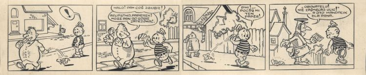Kajtek i Koko - pasek komiksowy.