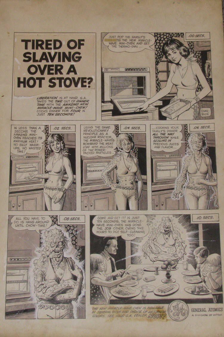 General Atomics comic art.