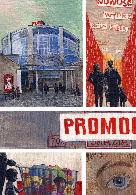 Pocztówki z Białegostoku - 22: Galeria Biała 2