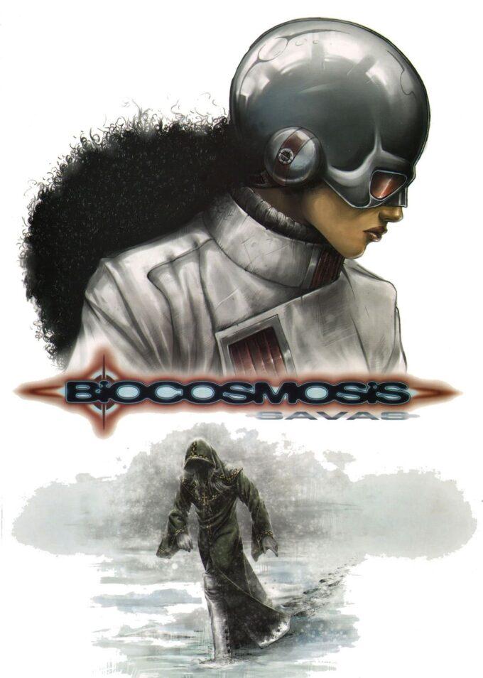 Biocosmosis #2 Savas 39 czarno-biały