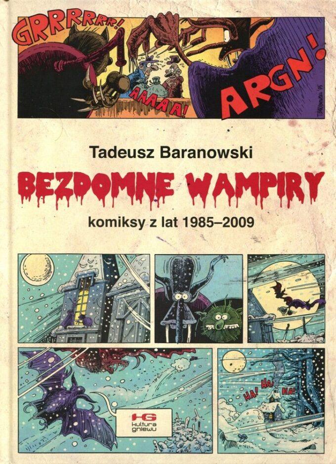Bezdomne wampiry 28 - komplet (szkic + plansza) czarno-biały