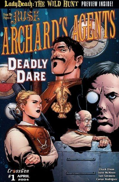 Archard's Agents #3 / 3 czarno-biały