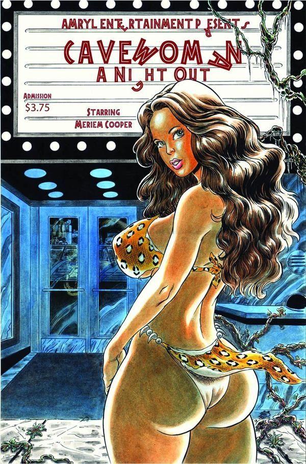 Cavewoman: A Night Out 21 czarno-biały