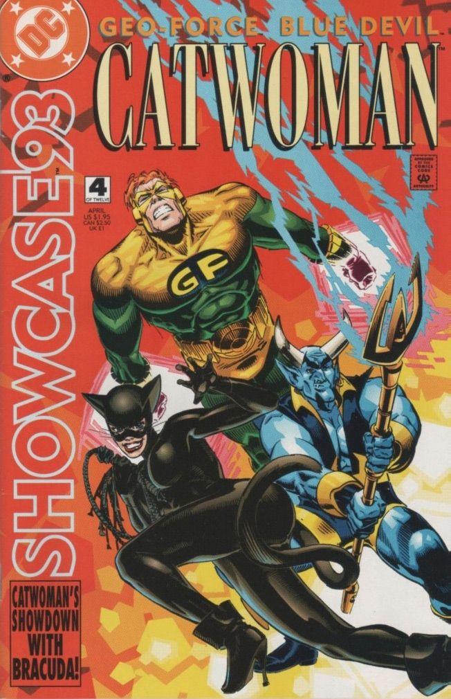 Catwoman: Showcase '93 #4 / 10 czarno-biały
