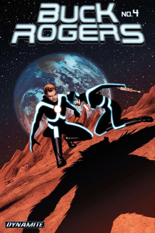 Buck Rogers #4 / 11 czarno-biały