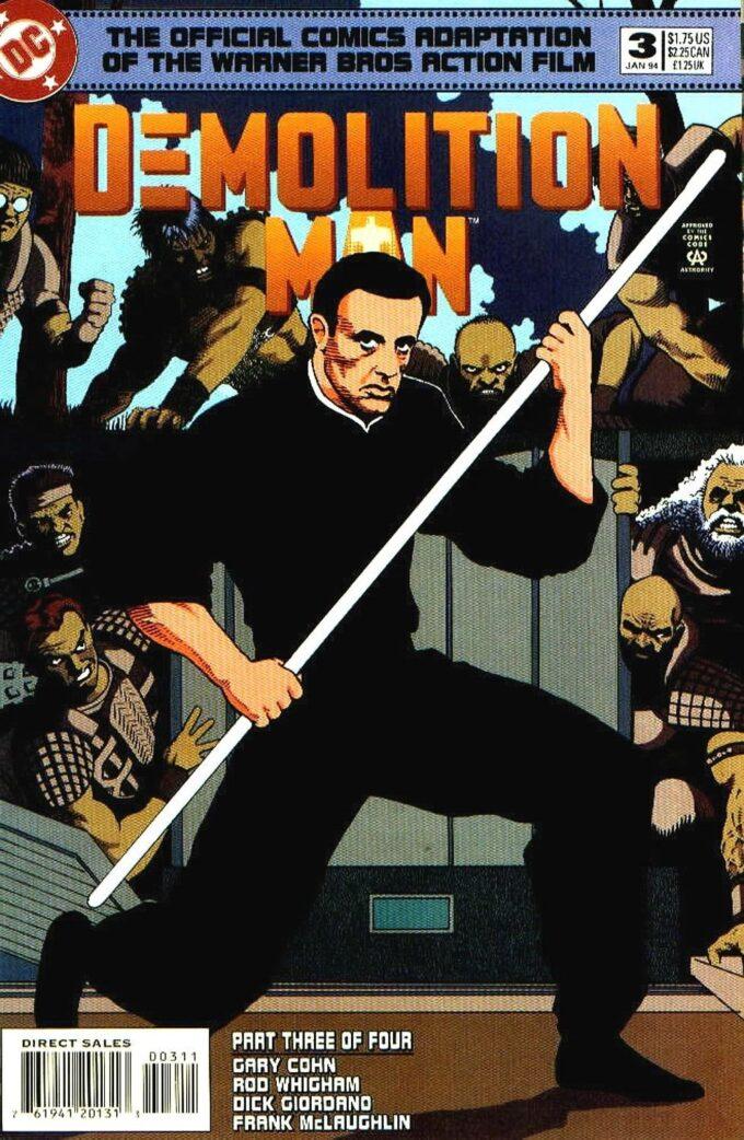 Demolition Man #3 / 2 czarno-biały
