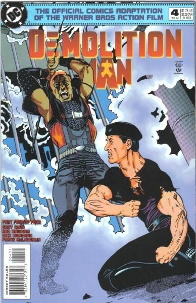 Demolition Man #4 / 22 czarno-biały