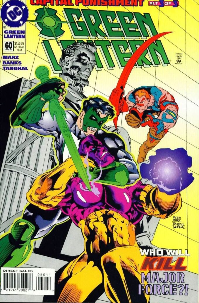 Green Lantern #60 / 2-3 czarno-biały