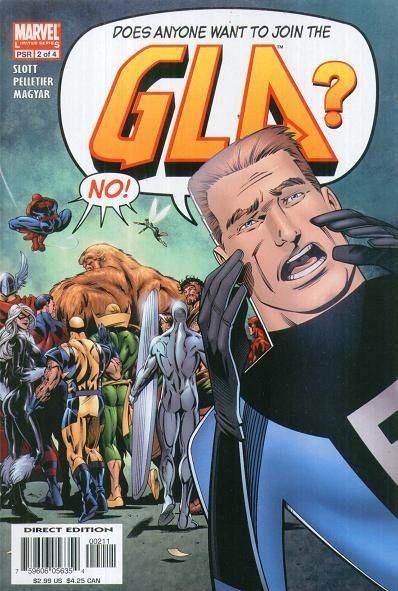 Great Lake Avengers (G.L.A.) #2 / 6 czarno-biały