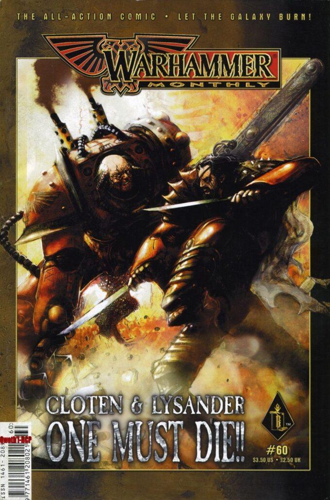 Warhammer Monthly  #60 / 5 czarno-biały