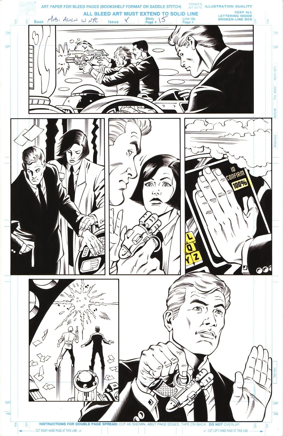 Men in Black: Alien in New York #4 / 15