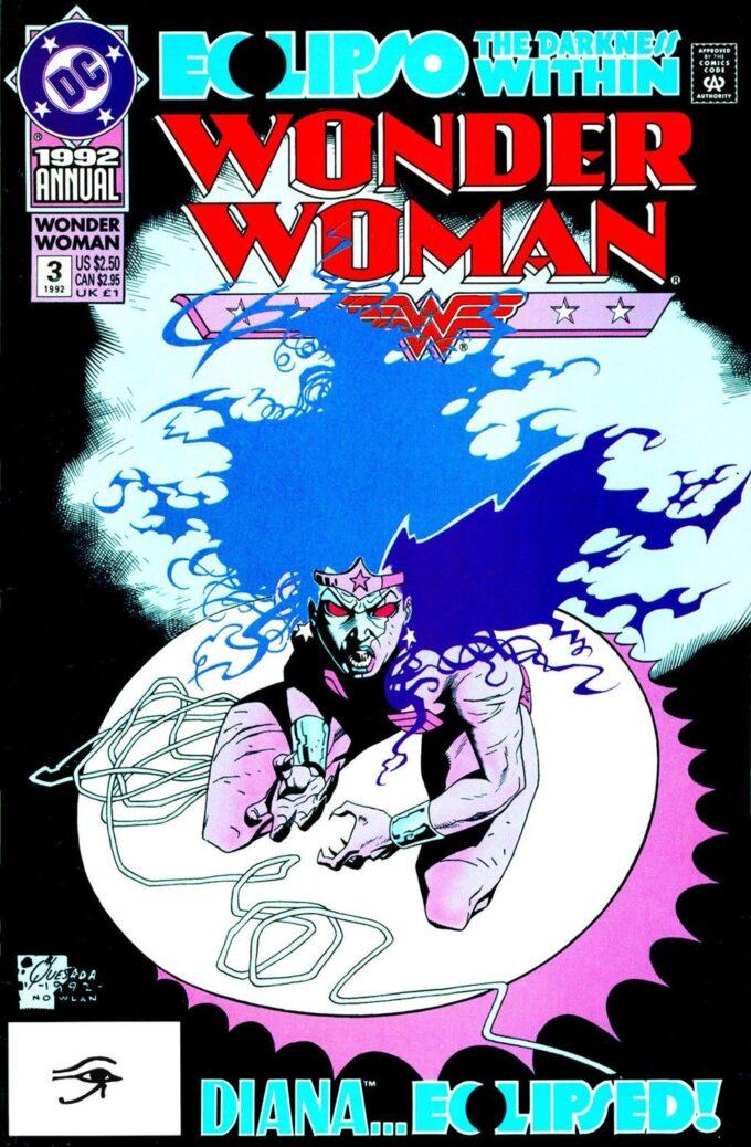 Wonder Woman Annual #3 / 7 czarno-biały