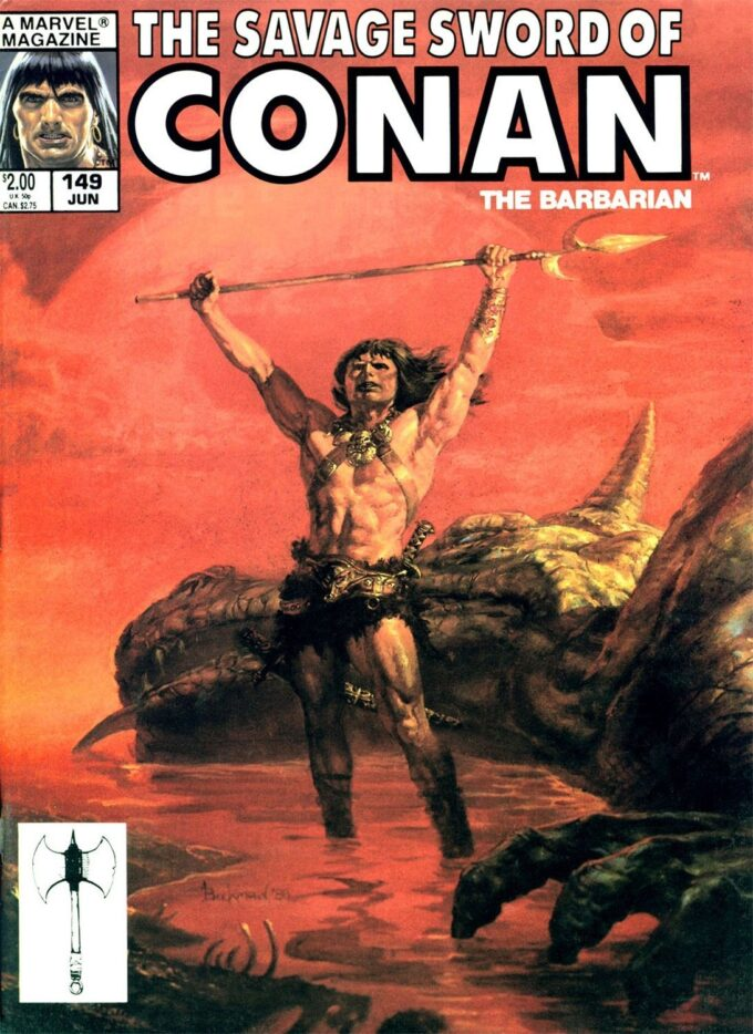Savage Sword of Conan #149 / 55 kolor