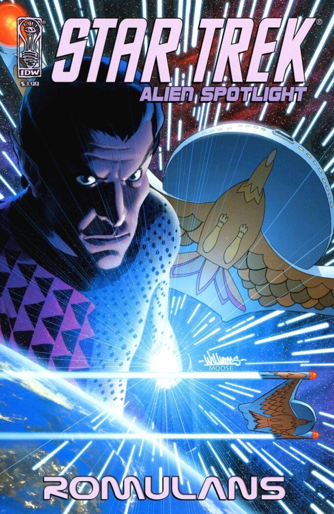 Star Trek: Alien Spotlight Romulans #1 / 6 czarno-biały