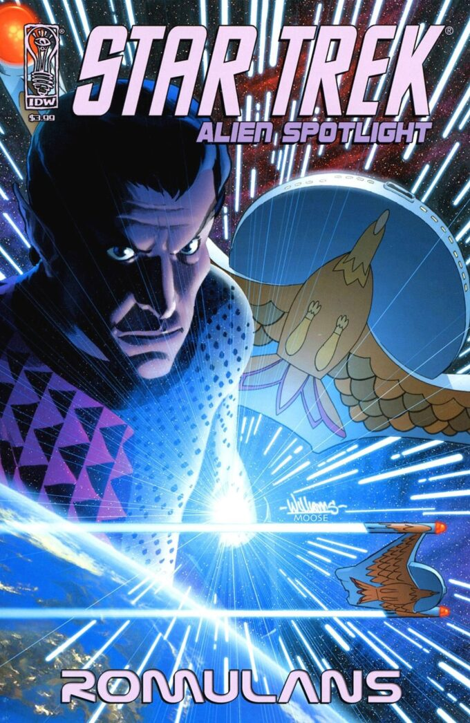 Star Trek: Alien Spotlight Romulans #1 / 2-3 czarno-biały