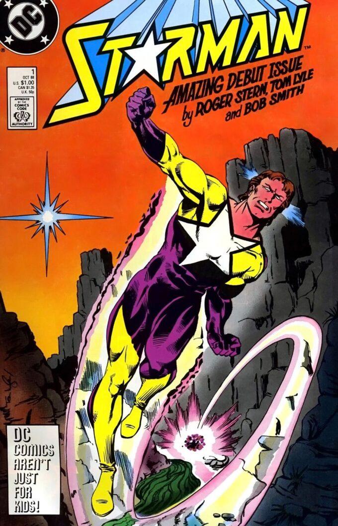 Starman #1 / 30 czarno-biały