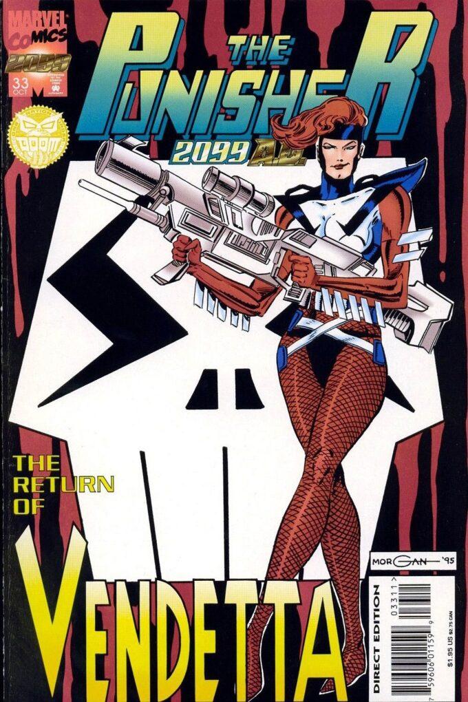 Punisher 2099 #33 / 2-3 czarno-biały