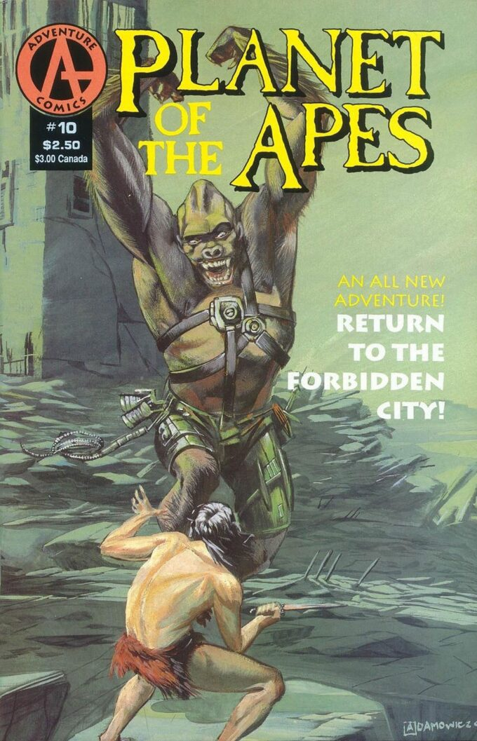 Planet of the Apes #10 / 15 czarno-biały