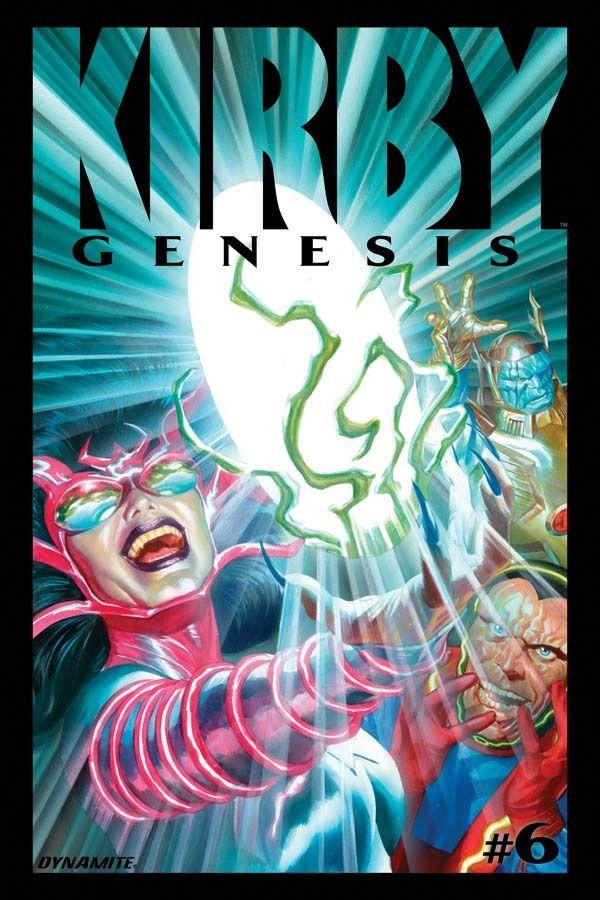 Kirby: Genesis #6 / 19 czarno-biały