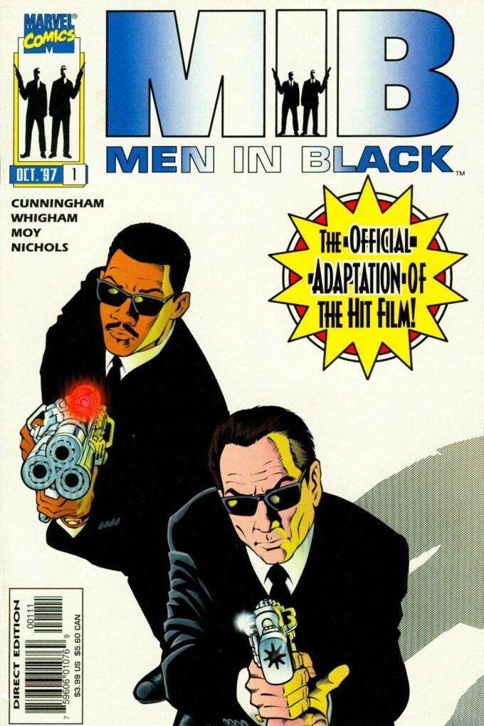 Men in Black: The Movie / 12 czarno-biały