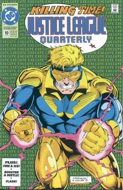 Justice League Quarterly #10 / 6 czarno-biały