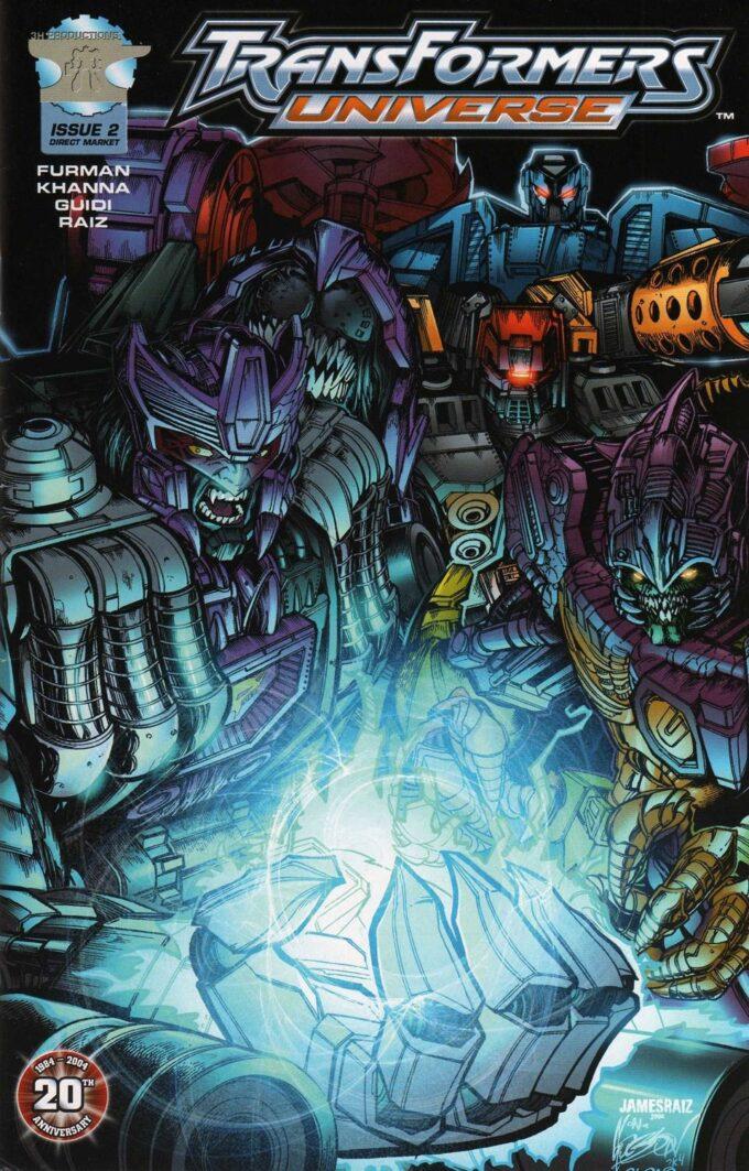 Transformers TFU #2 / 13 czarno-biały