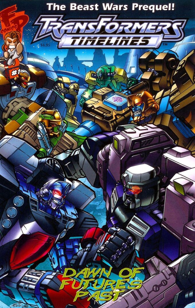 Transformers: Beast Wars #3 / 22 czarno-biały