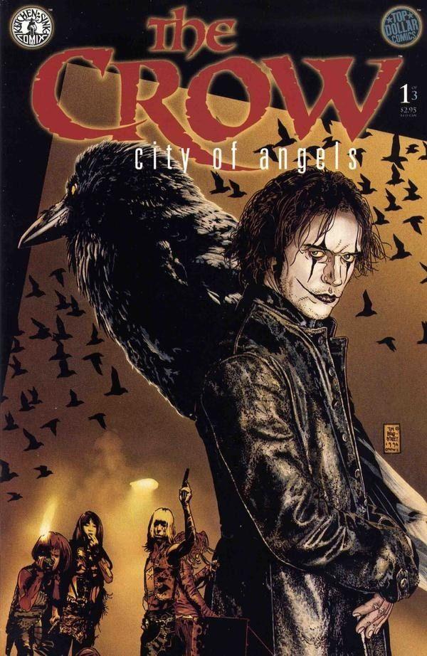 The Crow: City of Angels #1 / 23 czarno-biały