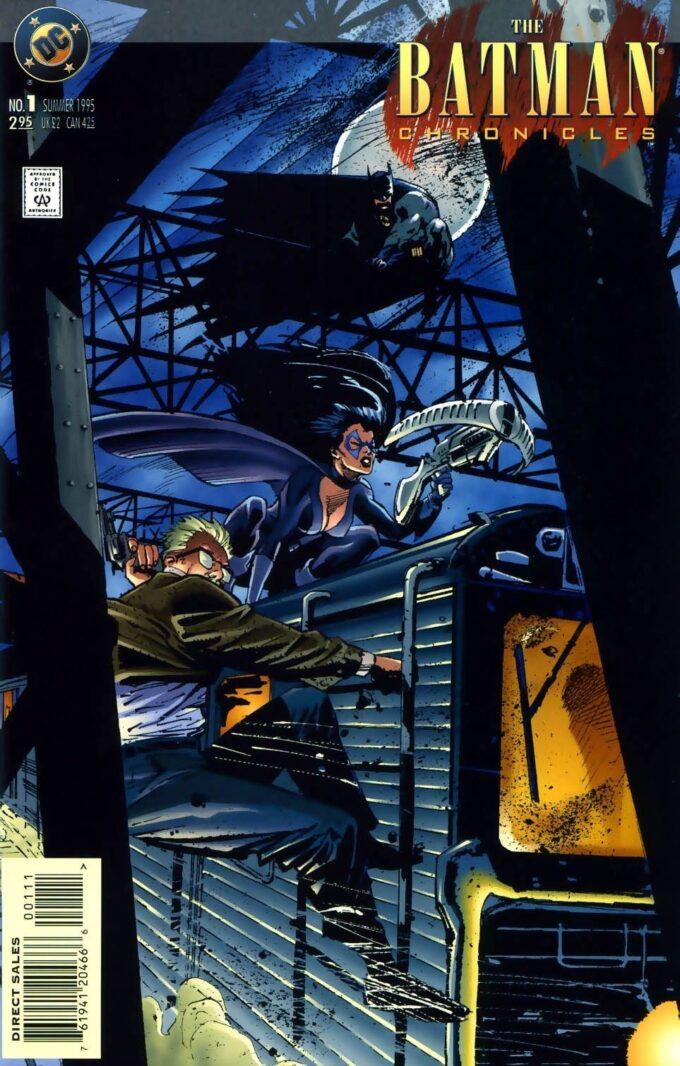 The Batman Chronicles: Anarky in Tommorow Belongs to Us #1 / 1 czarno-biały